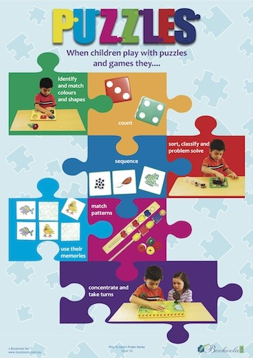 Play to Learn Posters Puzzles