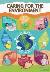 Caring for the Environment poster